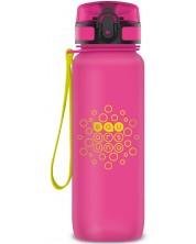 Sticla pentru apa Ars Una - Roz mat, 800 ml