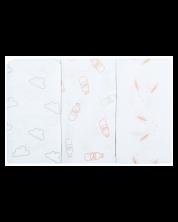 Bubaba Set 3 scutece de muselina, 37032 -1