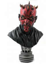 Statueta bust Diamond Select Movies: Star Wars - Darth Maul (Legends in 3D), 25 cm
