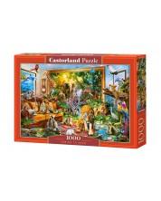 Puzzle Castorland de 1000 piese - Vizita in camera