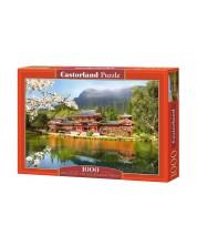 Puzzle Castorland de 1000 piese - Replica templului Hoshokan in Kyoto