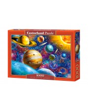 Puzzle Castorland de 1000 piese - Odiseea Sistemului Solar