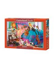 Puzzle Castorland de 1000 piese - Catelusi jucausi