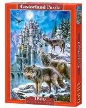 Puzzle Castorland de 1500 piese - Lupii noaptea