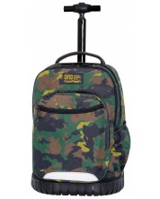 Ghiozdan scolar cu roti Cool Pack Swift - Military Jungle