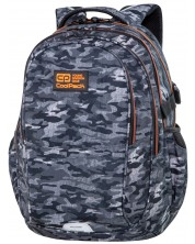Ghiozdan scolar Cool Pack Spiner Factor - Military Grey