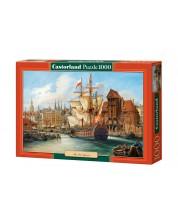 Puzzle Castorland de 1000 piese - Vechiul Gdanski, Polonia