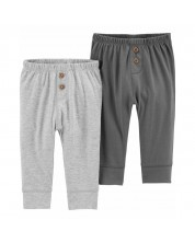 Set pantaloni pentru bebelusi Carter's, 2 buc, 74 cm, 6-9 luni -1