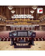 Cameron Carpenter - Rachmaninoff: Rhapsody on A Theme of Paganini & Poulenc: Organ Concerto (CD)