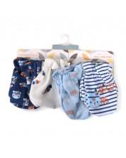 Manusi pentru bebe Cangaroo - Tibby, albastre -1