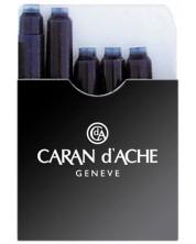 Cartuse pentru stilou  Caran d'Ache – Negru, 5 bucati -1
