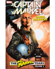 Captain Marvel Carol Danvers - The Ms. Marvel Years Vol. 2