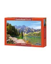 Puzzle Castorland de 1000 piese - Lac in Polonia