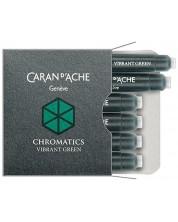 Rezerve stilou Caran d'Ache Chromatics – Verde, 6 bucati -1