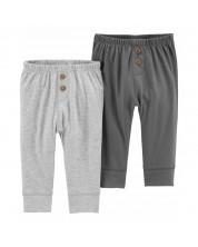 Set pantaloni pentru bebelusi Carter's, 2 buc, 68 cm, 3-6 luni -1
