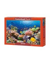 Puzzle Castorland de 1000 piese - Coral si pesti