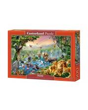 Puzzle Castorland de 500 piese - Rau in jungla
