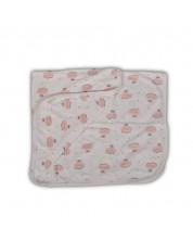 Paturica pentru bebelusi  Cangaroo - Mellow, roz -1