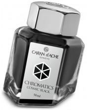 Cerneala pentru stilou Caran d'Ache Chromatics - Cosmic Black, 50 ml -1