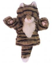 Papusa de mana stil manusa The Puppet Company - Pisica gri