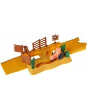Set de joaca Mattel Cars Story Sets - Tractor Tippin, Deluxe -1
