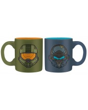 Cana pentru espesso ABYstyle Games: Halo - Masterchief vs. Locke