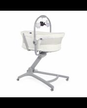 Cos multifunctional pentru bebelusi Chicco 4in1 - Baby Bug, Air White Snow -1