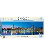 Puzzle panoramic Master Pieces de 1000 piese - Chicago, Ilinois