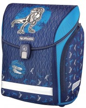 Ghiozdan scolar anatomic Herlitz Midi - Blue Dino -1