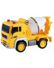 Jucarie pentru copii - Camion de constructii, cu sunet si lumini, sortiment -1