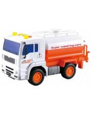 Jucarie pentru copii City Service - Camion, cu sunet si lumini, sortiment