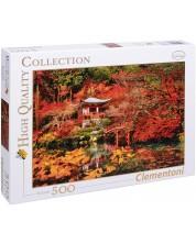 Puzzle Clementoni de 500 piese - Vis oriental