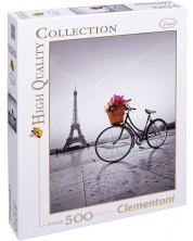Puzzle Clementoni de 500 piese - Plimbare romantica in Paris