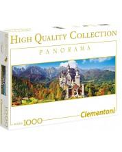 Puzzle panoramic Clementoni de 1000 piese - Castelul Neuchwanstei, Germania