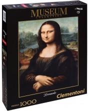 Puzzle Clementoni de 1000 piese - Mona Liza Leonardo da Vinci