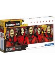Puzzle panoramic Clementoni de 1000 piese - La Casa De Papel (The Money Heist)