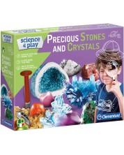 Set stiintific Clementoni Science & Play - Pietre pretioase si cristale