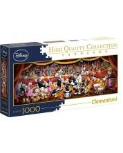 Puzzle panoramic Clementoni de 1000 piese - Orchestra Disney