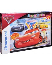 Puzzle Clementoni de 104 piese - Masini 3