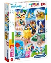 Puzzle Clementoni de 104 piese - Disney Dance Time