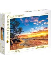 Puzzle Clementoni de 500 piese - Plaja paradisului
