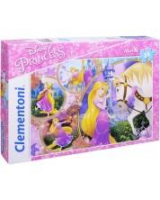 Puzzle Clementoni de 24 maxi piese - Rapunzel si talharul