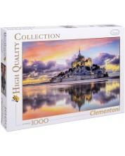 Puzzle Clementoni de 1000 piese - Minunatul Mont Saint-Michel
