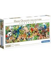 Puzzle panoramic Clementoni de 1000 piese - Wildlife