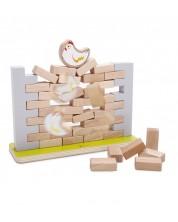 Zid de aranjare din lemn Classic World -1