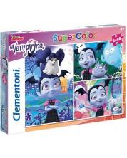 Puzzle Clementoni  din 3 x 48 piese - Vampirina