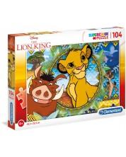Puzzle Clementoni de 104 piese - Regele Leu