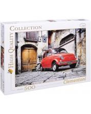 Puzzle Clementoni de 500 piese - Red 500