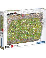 Puzzle Clementoni de 1000 piese - Football, Guillermo Mordillo