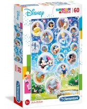 Puzzle Clementoni de 60 piese - Disney Classic